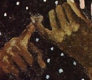 Detail 'The Counting Lesson' - poised finger